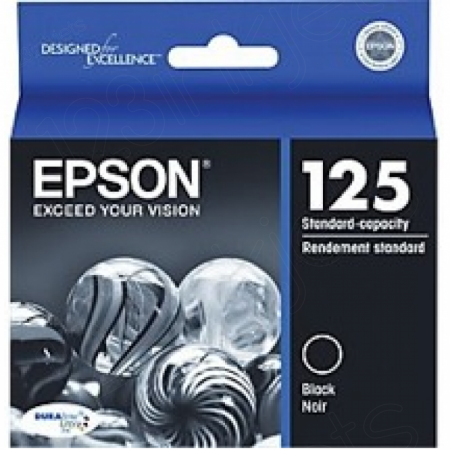 Epson T125120 Ink Cartridge, Black, OEM