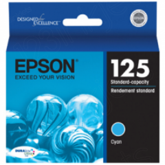 Epson T125220 Ink Cartridge, Cyan, OEM