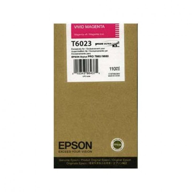 Epson OEM T602300 Vivid Magenta Ink Cartridge