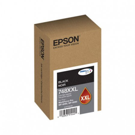 Epson OEM T748XXL120 Extra High Yield Black Ink