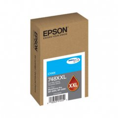 Epson OEM T748XXL220 Extra High Yield Cyan Ink