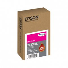 Epson OEM T748XXL320 Extra High Yield Magenta Ink