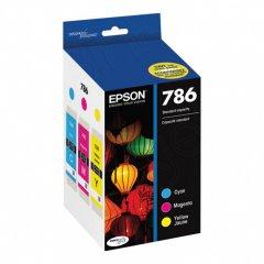 Genuine Epson T786520 Cyan / Magenta / Yellow Ink Cartridges