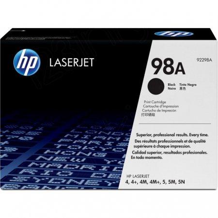 Hewlett Packard 92298A (98A) Black Toner Cartridge