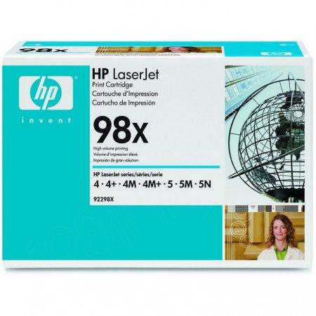 HP Original 98X High Yield HY Black Laser