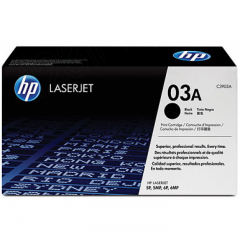 Hewlett Packard C3903A (03A) Black Toner Cartridge