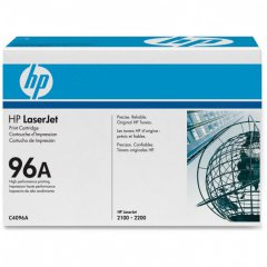 Hewlett Packard C4096A (96A) Black Toner Cartridge