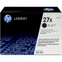 Hewlett Packard C4127X (27X) Black Toner Cartridge