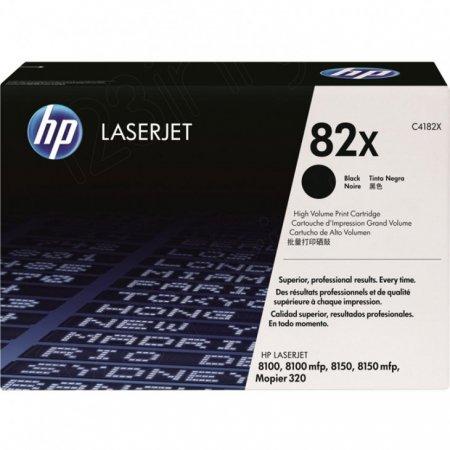 Hewlett Packard C4182X (82X) Black Toner Cartridge