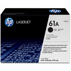 Hewlett Packard C8061A (61A) Black Toner Cartridge