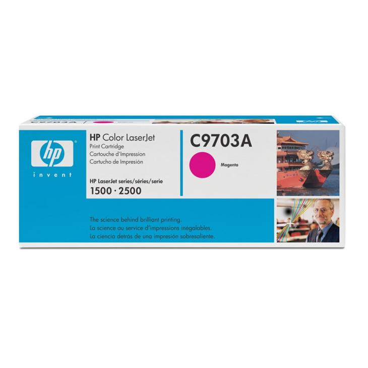 Hewlett Packard C9701A (121A) Cyan Toner Cartridge