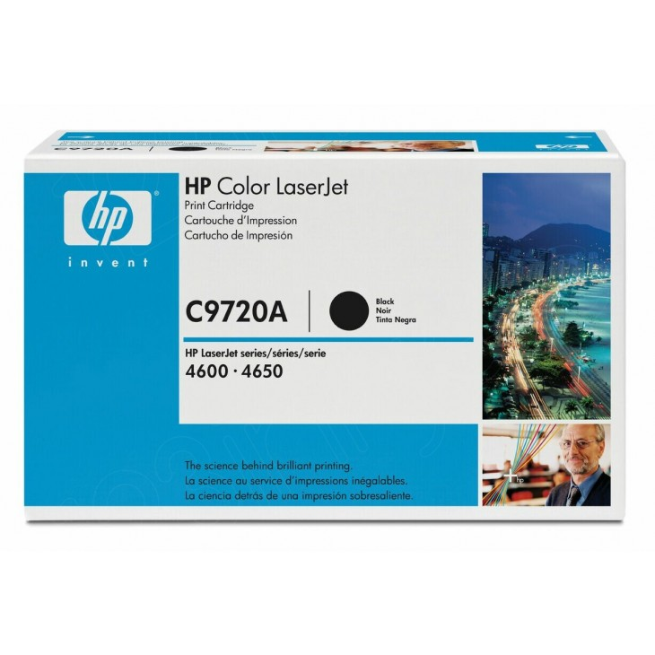 Hewlett Packard C9720A (641A) Black Toner Cartridge