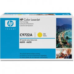 Hewlett Packard C9722A (641A) Yellow Toner Cartridge