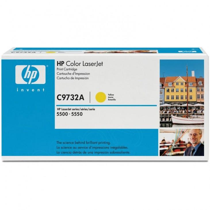 Hewlett Packard C9732A (645A) Yellow Toner Cartridge