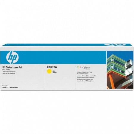 Hewlett Packard CB382A (824A) Yellow Toner Cartridge