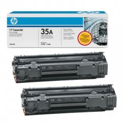 Hewlett Packard CB435AD (35A) Black Toner Cartridge