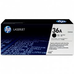 Hewlett Packard CB436A (36A) Black Toner Cartridge