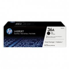 Hewlett Packard CB436AD (36A) Black Toner Cartridge