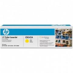 Hewlett Packard CB542A (125A) Yellow Toner Cartridge