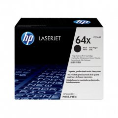 Hewlett Packard CC364X (64X) Black Toner Cartridge
