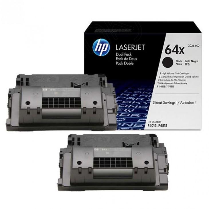 Hewlett Packard CC364XD (64X) Black Toner Cartridge
