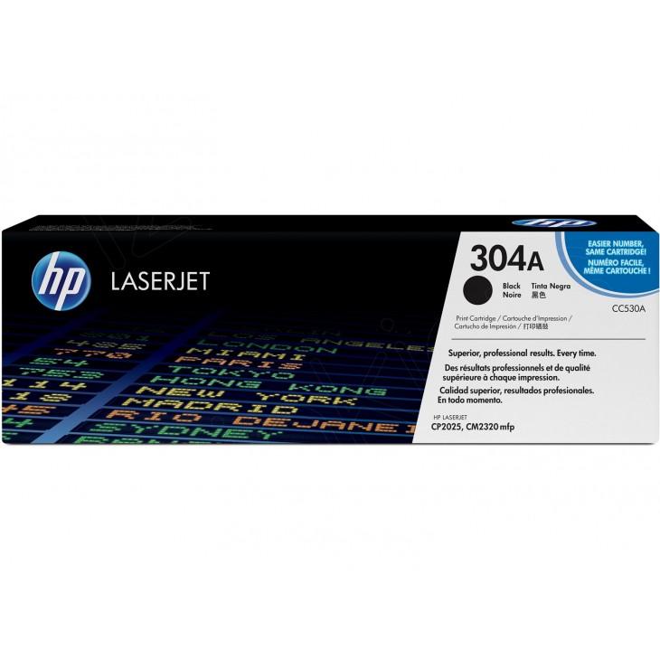 Hewlett Packard CC530A (304A) Black Toner Cartridge
