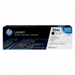 Hewlett Packard CC530AD (304A) Black Toner Cartridge