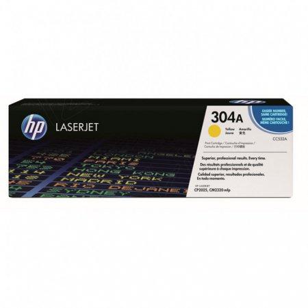 Hewlett Packard CC532A (304A) Yellow Toner Cartridge