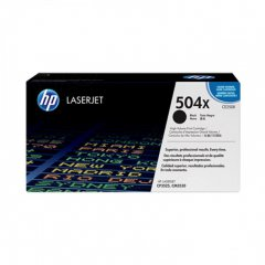 Hewlett Packard CE250X (504X) Black Toner Cartridge