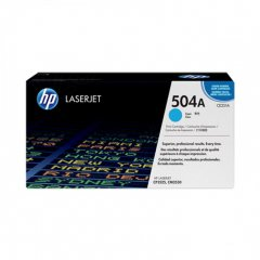 Hewlett Packard CE251A (504A) Cyan Toner Cartridge