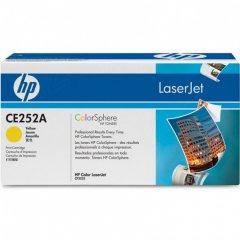 Hewlett Packard CE252A (504A) Yellow Toner Cartridge