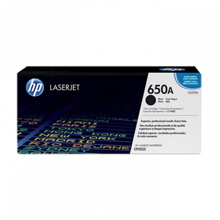 Hewlett Packard CE270A (650A) Black Toner Cartridge