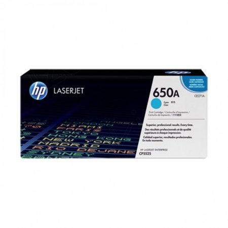 Hewlett Packard CE271A (650A) Cyan Toner Cartridge