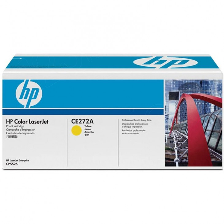 Hewlett Packard CE272A (650A) Yellow Toner Cartridge