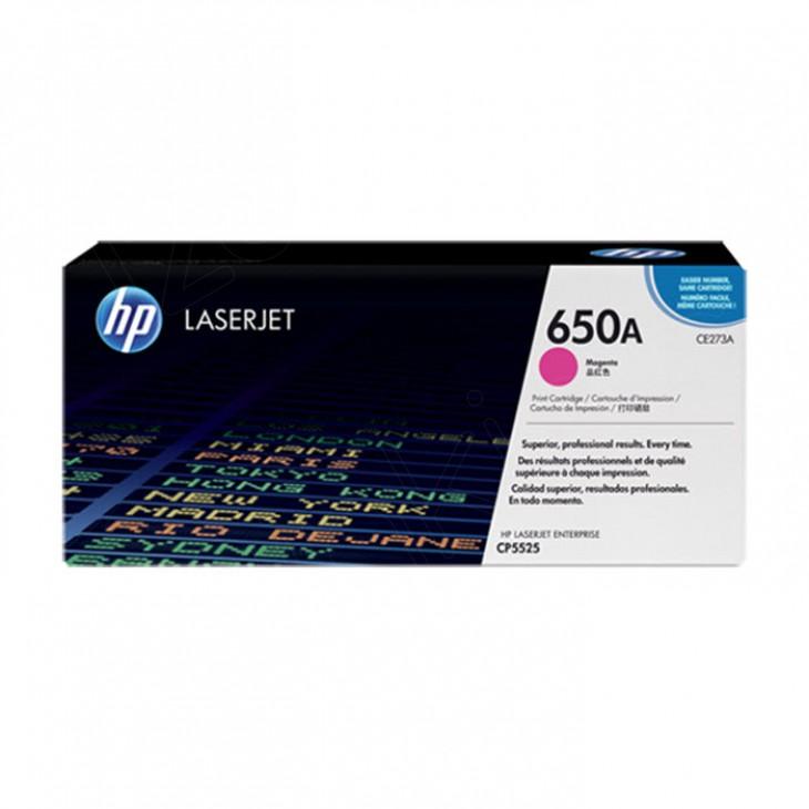 Hewlett Packard CE273A (650A) Magenta Toner Cartridge