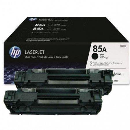 Hewlett Packard CE285D (85A) Black Toner Cartridge