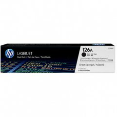 Hewlett Packard CE310AD (126A) Black Toner Cartridge