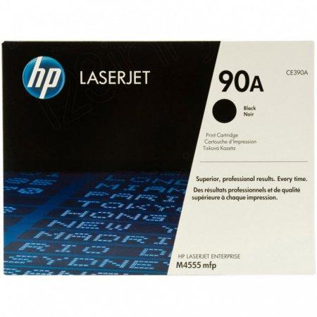 Hewlett Packard CE390A (90A) Black Toner Cartridge