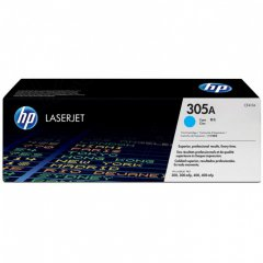 Hewlett Packard CE411A (305A) Cyan Toner Cartridge