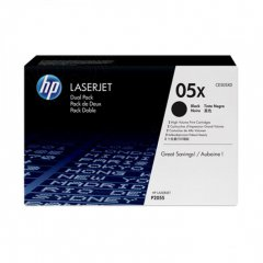 Hewlett Packard CE505XD (05X) Black Toner Cartridge