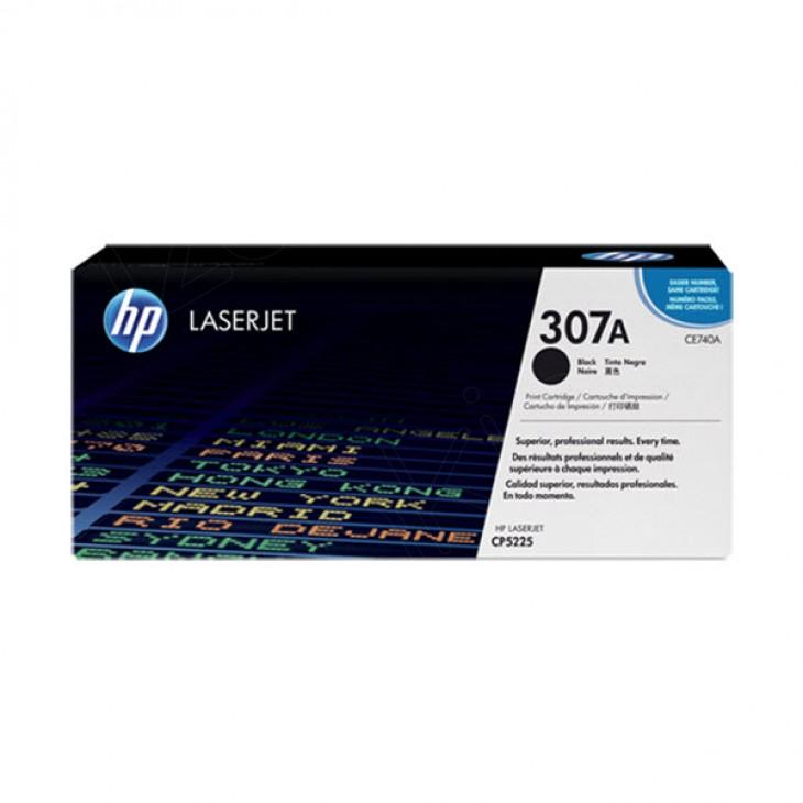 Hewlett Packard CE740A (307A) Black Toner Cartridge