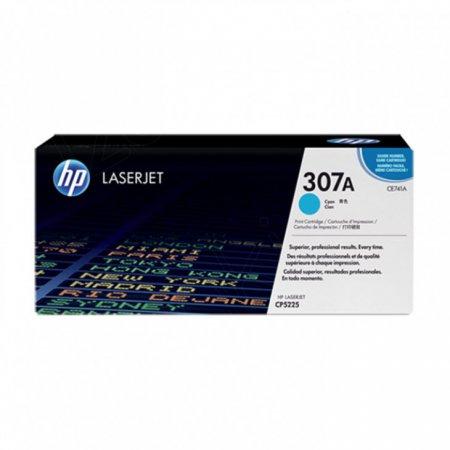 Hewlett Packard CE741A (307A) Cyan Toner Cartridge
