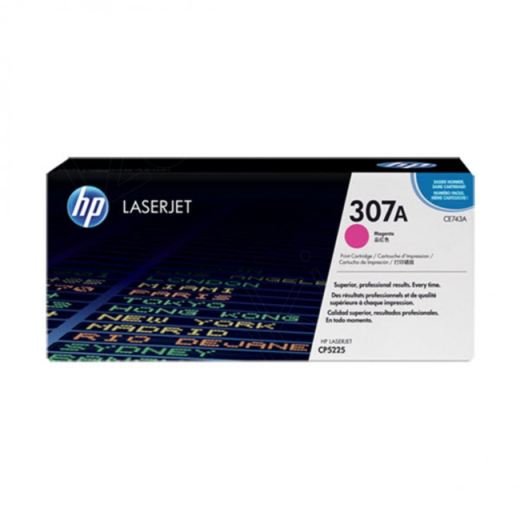Hewlett Packard CE743A (307A) Magenta Toner Cartridge