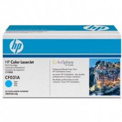 Hewlett Packard CF031A (646A) Cyan Toner Cartridge