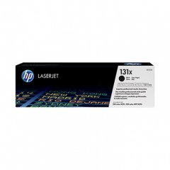 Hewlett Packard CF210X (131X) Black Toner Cartridge