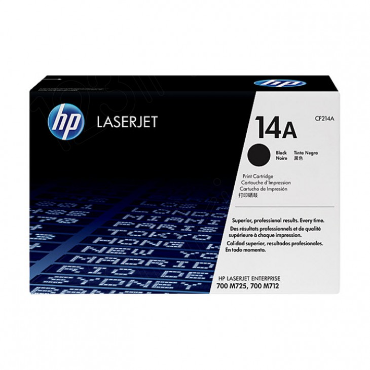 Hewlett Packard CF214A (14A) Black Toner Cartridge