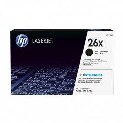 HP Original 26X High Yield HY Black Laser