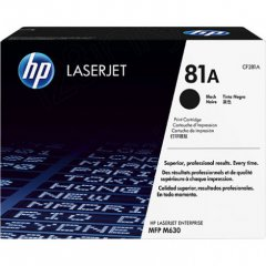 Hewlett Packard CF281A (81A) Black Toner Cartridge