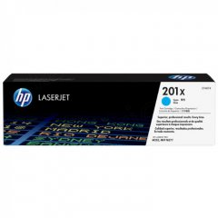 HP Original 201X High Yield HY Cyan Laser