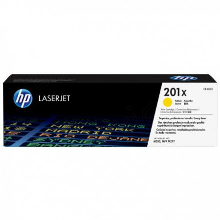 HP Original 201X High Yield HY Yellow Laser